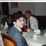 Ben Pollock after a Czech meal 09-1992