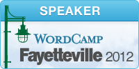 WordCamp Fayetteville 2012