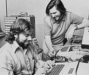 Steve Wozniak, Steve Jobs, 1975