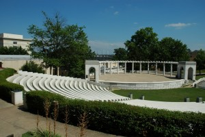 Greek Theater at the University of Arkansas. Credit Wikimedia Commons