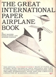 Cover of The Great International Paper Airplane Book, 1971