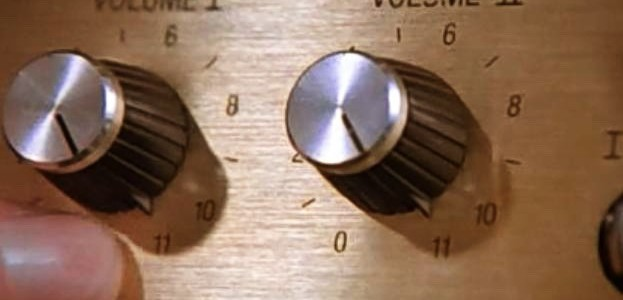 "The knobs on the amp of guitarist ""Nigel Tufnel"" go to 11 not 10. The 1984 fictional documentary ""This Is Spinal Tap"" continues to be a locus of cultural history."