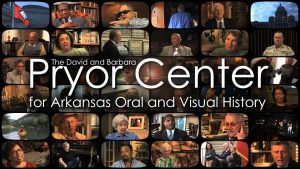 logo for the Pryor Center